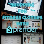 Shopping for Fitness Clothes with Splender