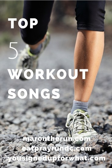 Top 5 Workout Songs