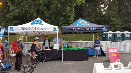 Rev3 Montclair Triathlon packet pickup