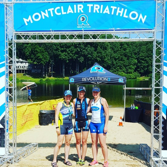 Rev3 Montclair Triathlon with friends