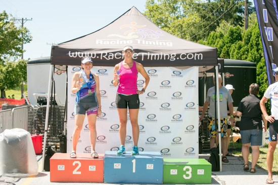 Fort Ritchie Triathlon awards