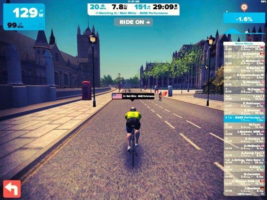 Zwift with BASE