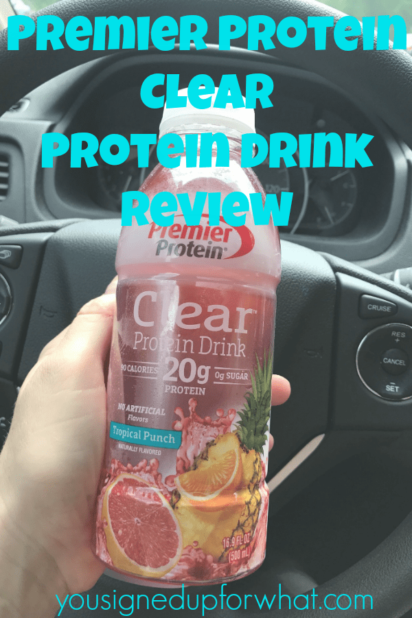 It's All About the Protein – Premier Protein Clear Review