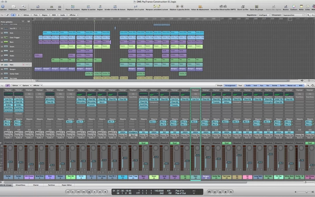 Formation audio : Post production avec Logic pro, Mainstage  & la Native Komplete utimate
