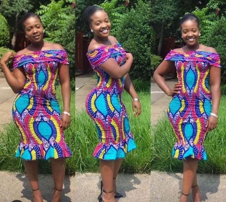 African short dress