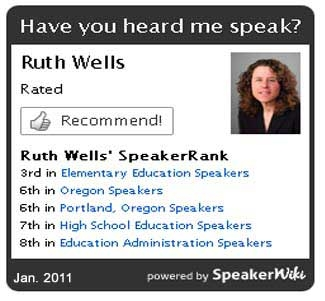 education speaker Ruth Herman Wells