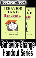 behavior improvement worksheets book