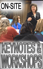 on-site workshops and keynotes