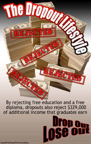 Dropout Prevention Poster