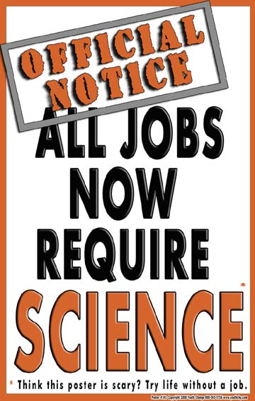 motivational science poster
