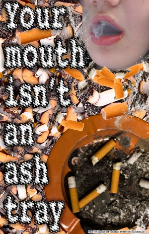 youth Classroom prevention poster stops student smoking