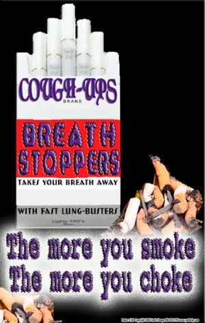 Youth School Poster to stop Smoking