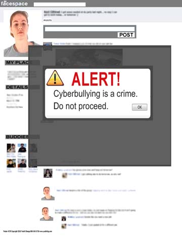 Cyberbullying Prevention Poster