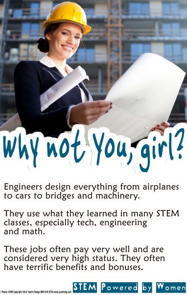 Classroom STEM engineering poster