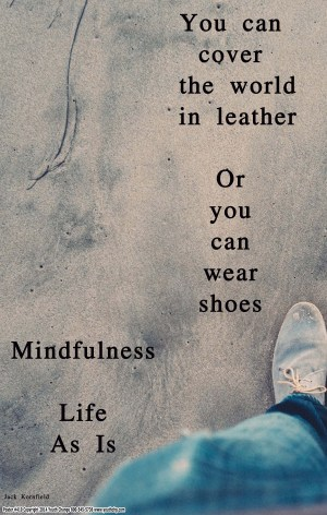 mindfulness counseling poster
