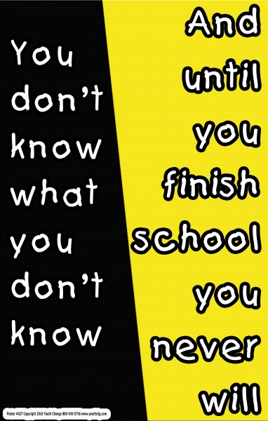 student motivational poster for classrooms