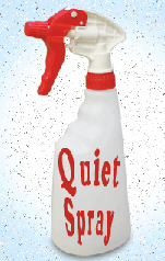 quiet spray