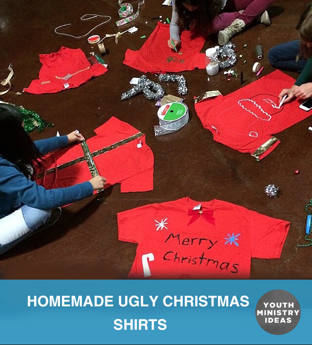 Homemade Ugly Christmas Shirts Youth DownloadsYouth Downloads