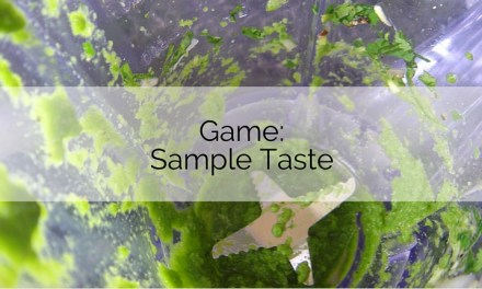 Game: Sample Taste
