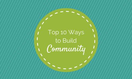 Servant Events: Top 10 Ways to Build Community