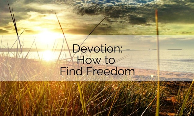 Devotion: How to Find Freedom