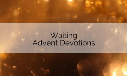 Waiting Advent Devotions