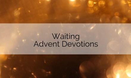 Waiting Advent Devotions