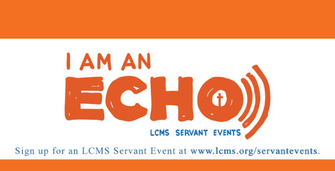 2017 Servant Event Devotions: I Am An Echo