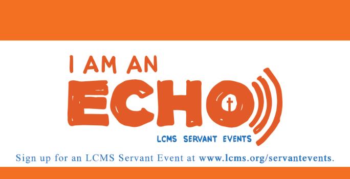 2017 Servant Event Devotions: I Am An Echo
