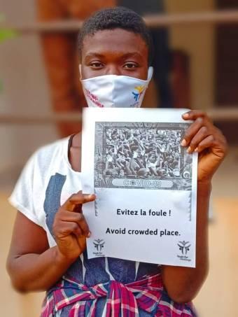 贝宁的冠状病毒:01位YFC志愿者谈论它