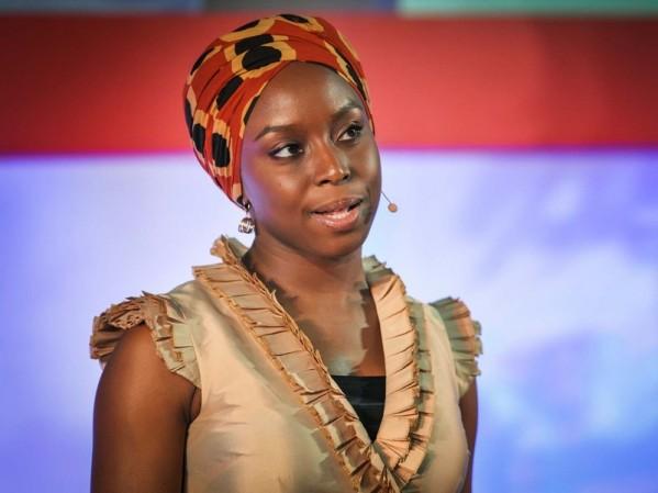 Chimamanda Ngozi Adichie speaking at TED