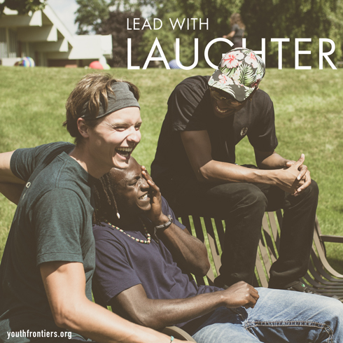lead with laughter