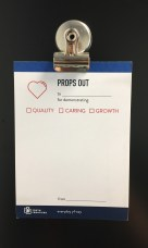 Props Out Card