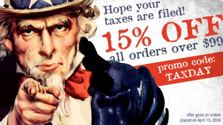 Tax Day Special at SYM