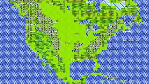 Finally, 8 Bit Google Maps!