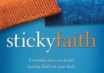 Sticky Faith Ebook Sale – $2.99