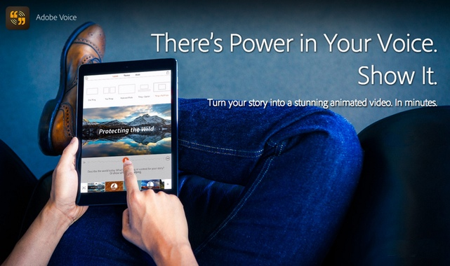 NEW App – Voice – Show Your Story