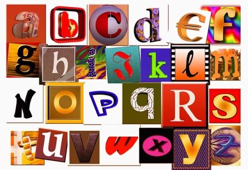 Letters, A, Abc