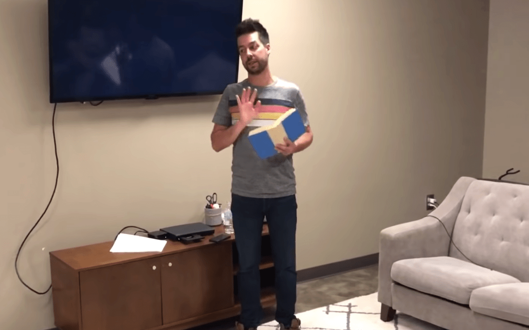 Youth Pastor Accidental Screenshare Video