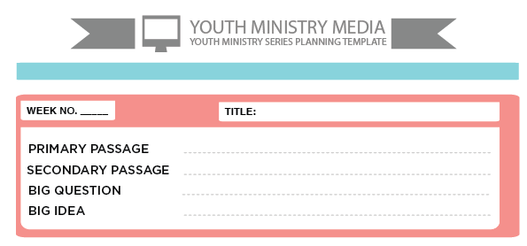 youth group calendar template - freebie friday preaching templates youth ministry media