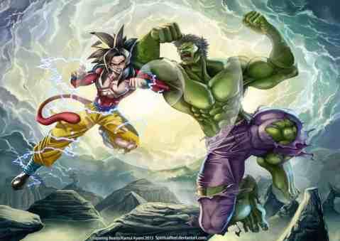 goku vs hulk youth voices