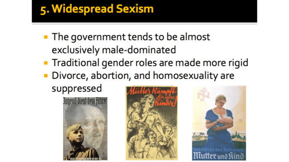 Widespread Sexism