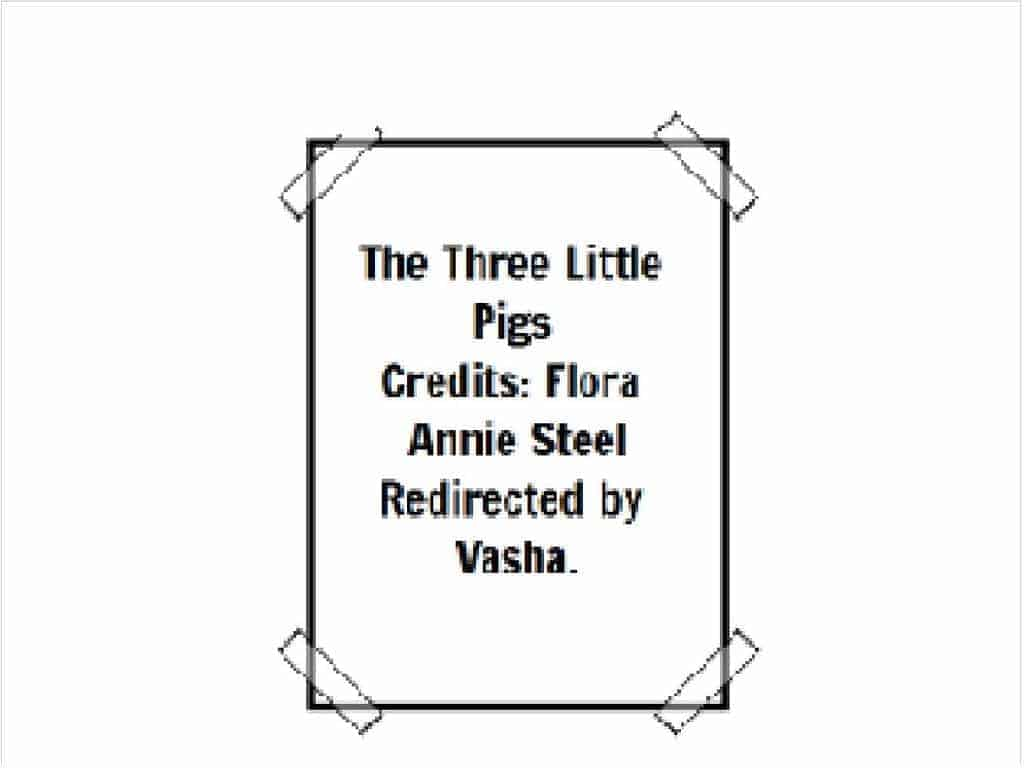 The Three Little Pigs Remixed