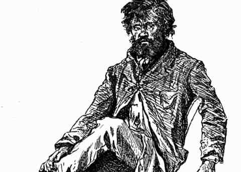 Huckleberry finn is pap more than an abusive father youth voices pap is huckleberry finns father huck describes him by saying he was around fifty with long greasy black hair that his eyes shine through and skin that ccuart Image collections
