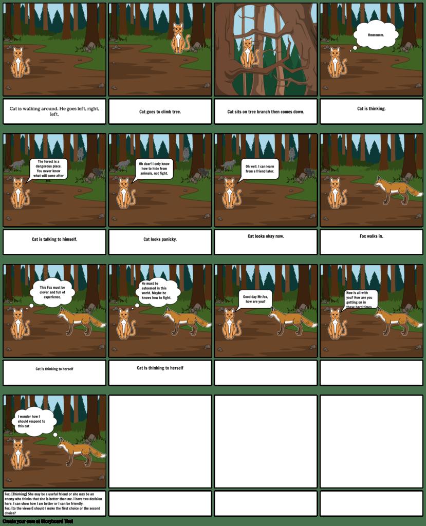 Act 1 Storyboard