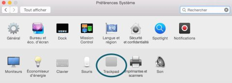 Trackpad activer le clic droit 2