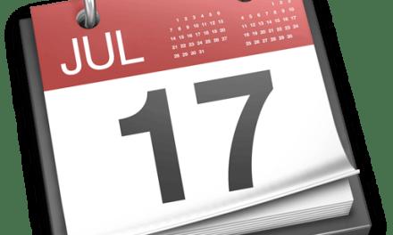 Pensez à sauvegarder vos calendriers iCal!
