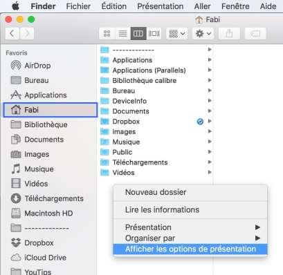 1Réactiver le dossier bibliothèque de votre Mac