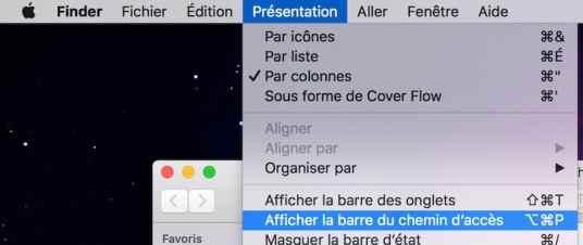 2Afficher l'arborescence de vos dossiers sur Mac