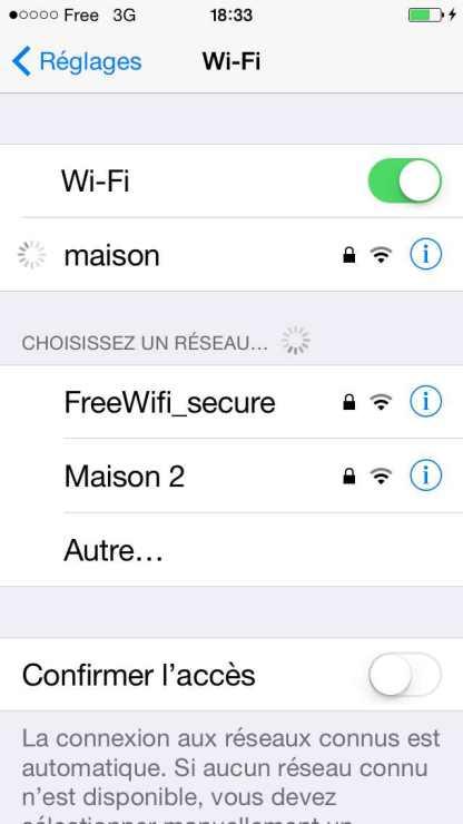 Comment activer ou désactiver le wifi 3